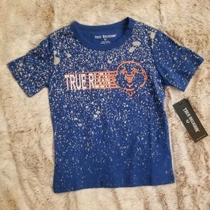 True Religion BOYS Royal Blue Buddha Tee